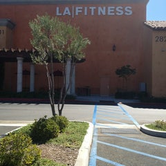Photo taken at LA Fitness by Judy F. on 8/29/2013