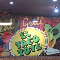 Photo taken at EL TACOTOTE by Jesus S. on 4/26/2014