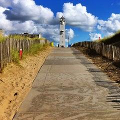 Photo taken at Strand Noordwijk aan Zee by Christian G. on 9/22/2012