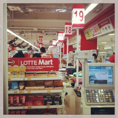 Photo taken at LotteMart by Farid S. on 1/2/2013