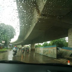 Photo taken at Jalan K.H. Soleh Iskandar by Suaebatul A. on 1/4/2014