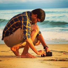 Photo taken at Stonesteps Beach by Kick K. on 6/14/2015
