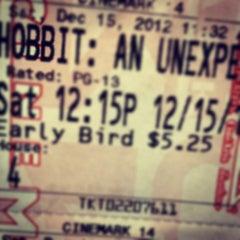 Photo taken at Cinemark Movies 14 by Jason M. on 12/15/2012