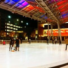 Photo taken at Silver Spring Ice Rink at Veterans Plaza by KαÖωWɑäη on 11/6/2013