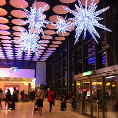 Photo taken at Heathrow Airport Terminals 1, 2 & 3 London Underground Station by Dr.Anna on 1/6/2013