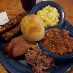 Photo taken at Sonny Bryan's Smokehouse by Ariel L. on 12/16/2012