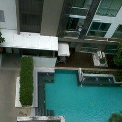 Photo taken at Swimming Pool At A Space Bld. B by Jup J. on 11/13/2012