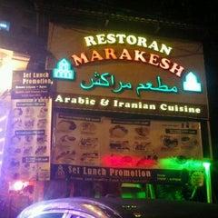 Photo taken at Marakesh: Arab Moroccan Restaurant by BöbÖ r. on 10/19/2012