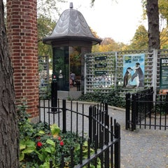 Photo taken at Central Park Zoo by Rafael G. on 10/27/2012