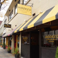 Photo taken at Hooked Seafood Restaurant by Hooked Seafood Restaurant on 11/18/2013
