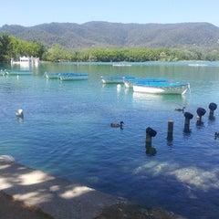 Photo taken at Estany de Banyoles by Ferran M. on 7/6/2013