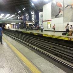 Photo taken at Metro Los Héroes by Jeannette A. on 12/18/2012