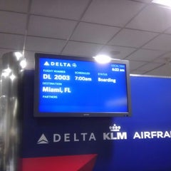 Photo taken at Terminal D (Delta Terminal) by Anya L. on 2/14/2013