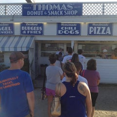 Photo taken at Thomas Donut & Snack Shop by Mike K. on 7/14/2013