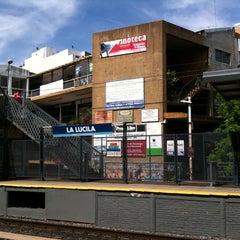 Photo taken at Estación La Lucila [Línea Mitre] by Bob F. on 10/15/2014