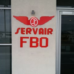 Photo taken at FBO/Servair - VIP lounge at AILA by Omar H. on 5/8/2013