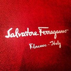 Photo taken at Salvatore Ferragamo by John B. on 1/18/2014