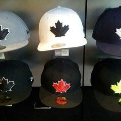 Photo taken at New Era Flagship Store: Toronto by Jasper I. on 6/28/2013