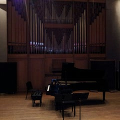 Photo taken at Purchase College Conservatory Of Music by Ken T. on 5/15/2013