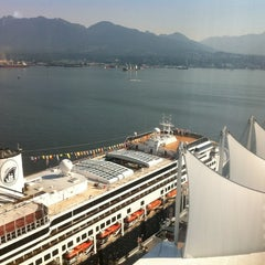 Photo taken at Pan Pacific Hotel by Mallory E. on 7/8/2012