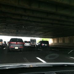 Photo taken at Garden State Parkway -- Saddlebrook by Kate W. on 7/3/2012