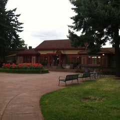 Photo taken at Peninsula Park Community Center by Ginny K. on 7/20/2011