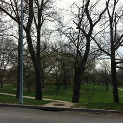 Photo taken at Loose Park by Jean W. on 3/17/2012