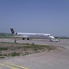 "Photo taken at Cluj-Napoca ""Avram Iancu"" International Airport (CLJ) by Inah on 4/27/2013"