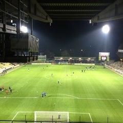 Photo taken at Herman Vanderpoortenstadion | Het Lisp by Timbo on 11/10/2012