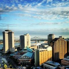Photo taken at New Orleans Marriott by Adam G. on 10/18/2012