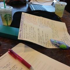 Photo taken at Starbucks by Hyunah L. on 10/21/2012