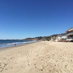Photo taken at Malibu Beach, CA by Slobodan M. on 11/21/2015