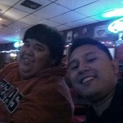 Photo taken at Longhorn Bar & Grill by Jonnathan P. on 11/15/2013