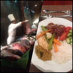Photo taken at Koamas Restaurant by CRISTINA T. on 2/8/2014
