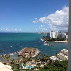 Photo taken at Caribe Hilton by Joe T. on 9/23/2013