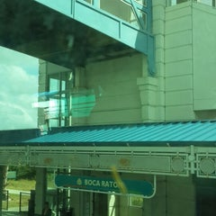Photo taken at Tri-Rail - Boca Raton Station by Fabian M. on 11/4/2013