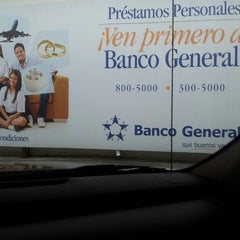 Photo taken at Banco General by Anita P. on 5/24/2013