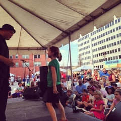 Photo taken at St Louis Art Fair by Circus K. on 9/12/2013