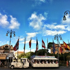 Photo taken at Piazza Tasso by Daniel Costa d. on 10/3/2012