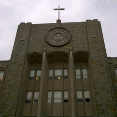 Photo taken at St. John's University by Alan L. on 10/15/2012