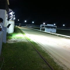 Photo taken at Henlow Dog Stadium by Nicholas G. on 2/15/2014