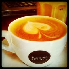 Photo taken at Heart Coffee Roasters by Andy H. on 10/16/2012
