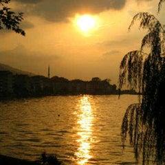 Photo taken at Değirmendere Sahil by Gokce K. on 10/29/2012