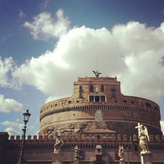 Photo taken at Castel Sant'Angelo by HJ on 5/26/2013