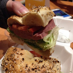 Photo taken at Towson Hot Bagels by Chalsea C. on 11/26/2014