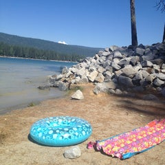 Photo taken at Bass Lake by Vanessa C. on 6/16/2013