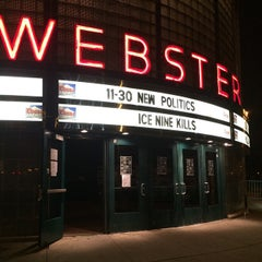 Photo taken at The Webster Theater by Jennifer A. on 11/30/2014