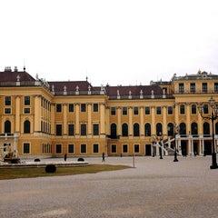 Photo taken at Schloss Schönbrunn by Varvara B. on 2/9/2013