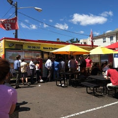 Photo taken at Rutgers Grease Trucks by Mike S. on 8/14/2013