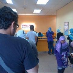 Photo taken at POSLAJU National Courier, Taman Perindustrian Selaman, Bangi by Anonimursi S. on 10/20/2012